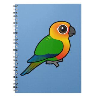 Birdorable Jandaya Parakeet Spiral Note Books