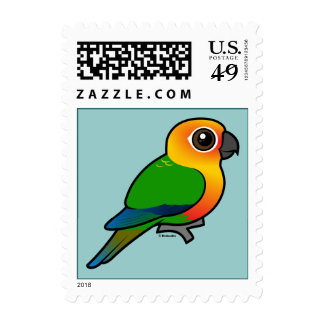 Birdorable Jandaya Parakeet Stamps