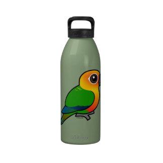 Birdorable Jandaya Parakeet Water Bottle