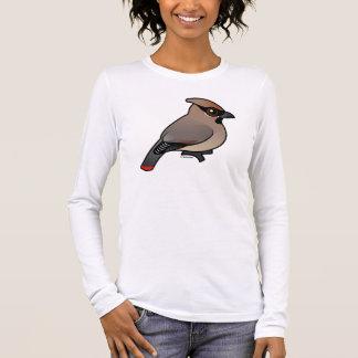 Birdorable Japanese Waxwing Long Sleeve T-Shirt
