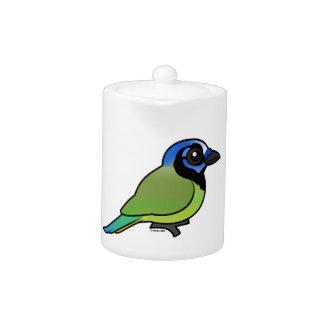 Birdorable Jay verde