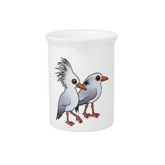 Birdorable Kagu Pair Beverage Pitcher