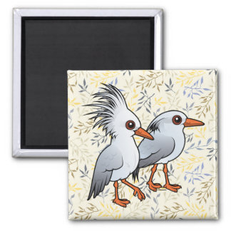 Birdorable Kagu Pair Magnet