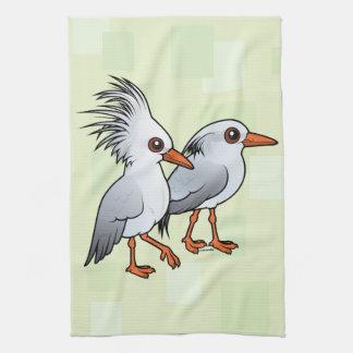 Birdorable Kagu Pair Towel