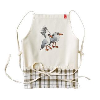 Birdorable Kagu Pair Zazzle HEART Apron
