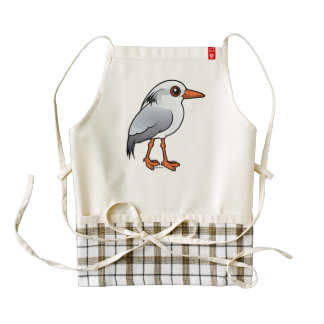 Birdorable Kagu Zazzle HEART Apron