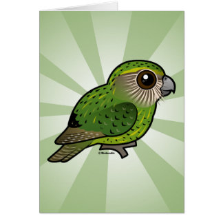 Birdorable Kakapo Card