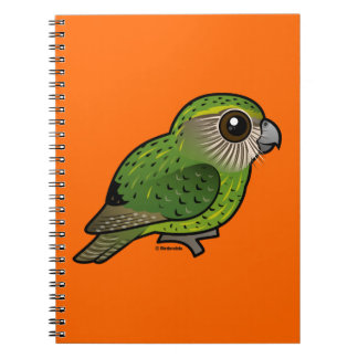 Birdorable Kakapo Notebook