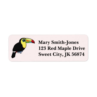 Birdorable Keel-billed Toucan Label