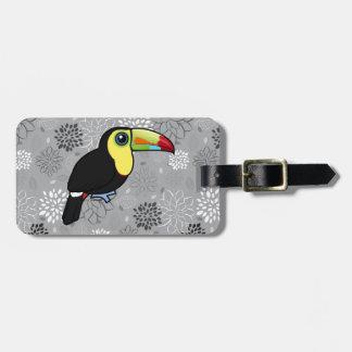 Birdorable Keel-billed Toucan Luggage Tag
