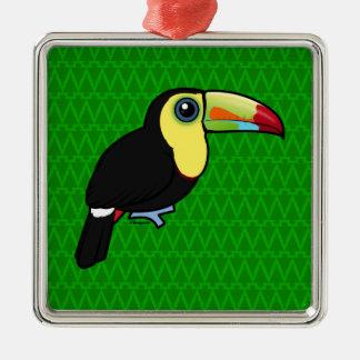 Birdorable Keel-billed Toucan Metal Ornament