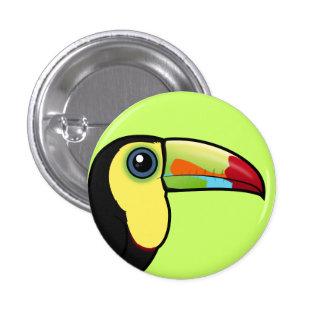 Birdorable Keel-billed Toucan Pinback Button
