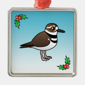 Birdorable Killdeer Metal Ornament