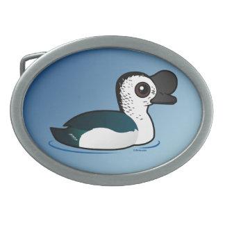 Birdorable Knob-billed Duck Belt Buckle