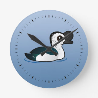 Birdorable Knob-billed Duck Round Clock