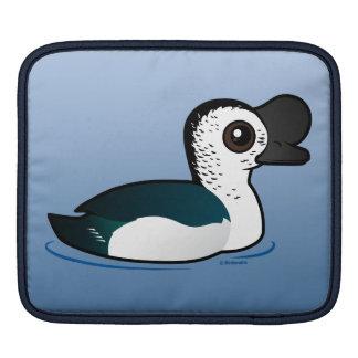 Birdorable Knob-billed Duck Sleeve For iPads