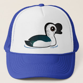 Birdorable Knob-billed Duck Trucker Hat