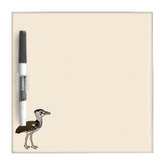 Birdorable Kori Bustard Dry Erase Board