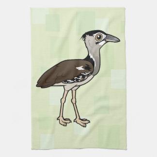 Birdorable Kori Bustard Hand Towels