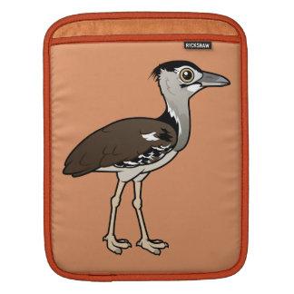 Birdorable Kori Bustard iPad Sleeve