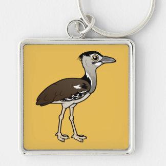 Birdorable Kori Bustard Keychain