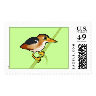 Birdorable Least Bittern Postage Stamp