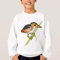 Least Bittern Kids' American Apparel Organic T-Shirt