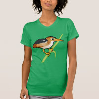 Least Bittern Women's American Apparel Fine Jersey Short Sleeve T-Shirt