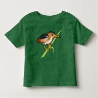 Least Bittern Toddler Fine Jersey T-Shirt