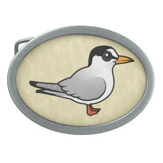 Birdorable Least Tern Oval Belt Buckles