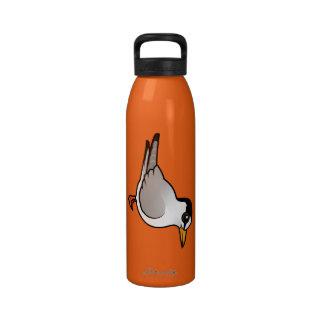 Birdorable Least Tern Water Bottle
