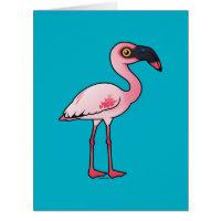 Lesser Flamingo Big Greeting Card