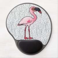 Lesser Flamingo Gel Mousepad