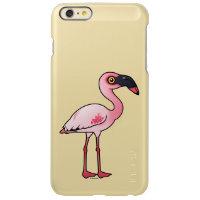 Lesser Flamingo Incipio Feather® Shine iPhone 6 Plus Case