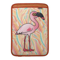 Lesser Flamingo Macbook Air Sleeve