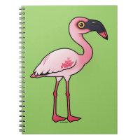 Lesser Flamingo Photo Notebook (6.5