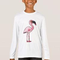 Lesser Flamingo Women's Bella+Canvas Jersey V-Neck T-Shirt