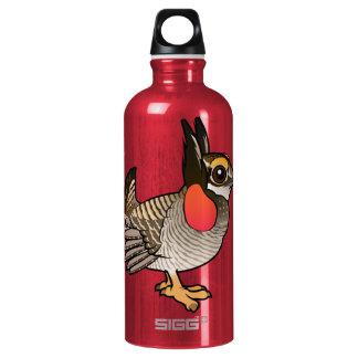 Birdorable Lesser Prairie-Chicken Aluminum Water Bottle
