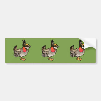 Birdorable Lesser Prairie-Chicken Bumper Sticker
