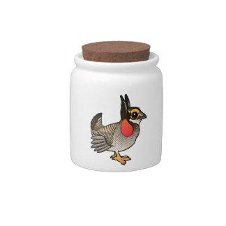 Birdorable Lesser Prairie-Chicken Candy Dish