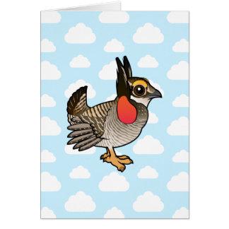 Birdorable Lesser Prairie-Chicken Card