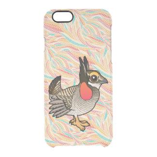 Birdorable Lesser Prairie-Chicken Clear iPhone 6/6S Case