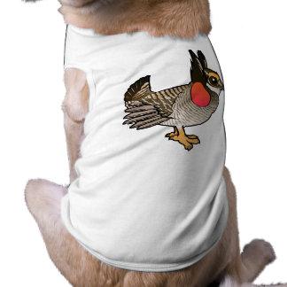 Birdorable Lesser Prairie-Chicken Dog T Shirt