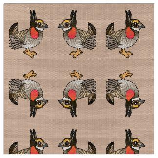 Birdorable Lesser Prairie-Chicken Fabric