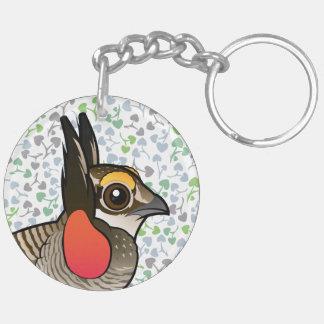 Birdorable Lesser Prairie-Chicken Keychain