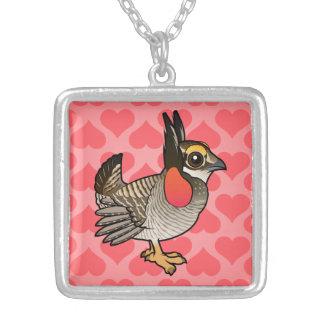 Birdorable Lesser Prairie-Chicken Necklace