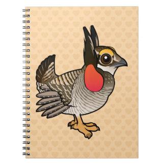 Birdorable Lesser Prairie-Chicken Notebooks