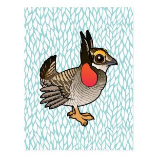 Birdorable Lesser Prairie-Chicken Postcard