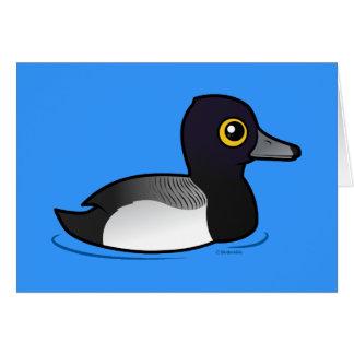 Birdorable Lesser Scaup Card