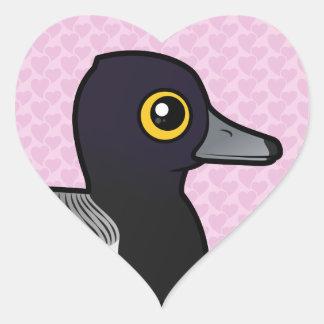 Birdorable Lesser Scaup Heart Sticker
